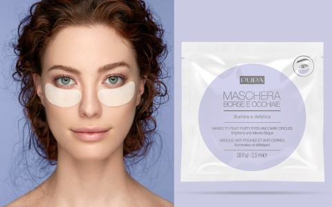 Tissue mask for eye contour and dark circles - PUPA Milano