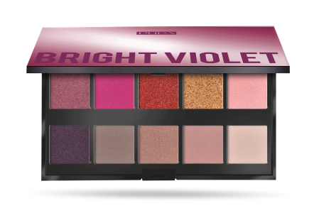 Make Up Stories Palette Bright Violet