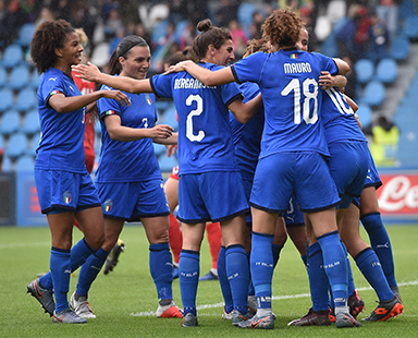 ITALIAN WOMEN'S NATIONAL FOOTBALL TEAM