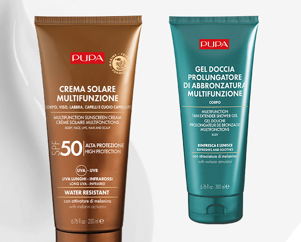 Guide to PUPA sun products