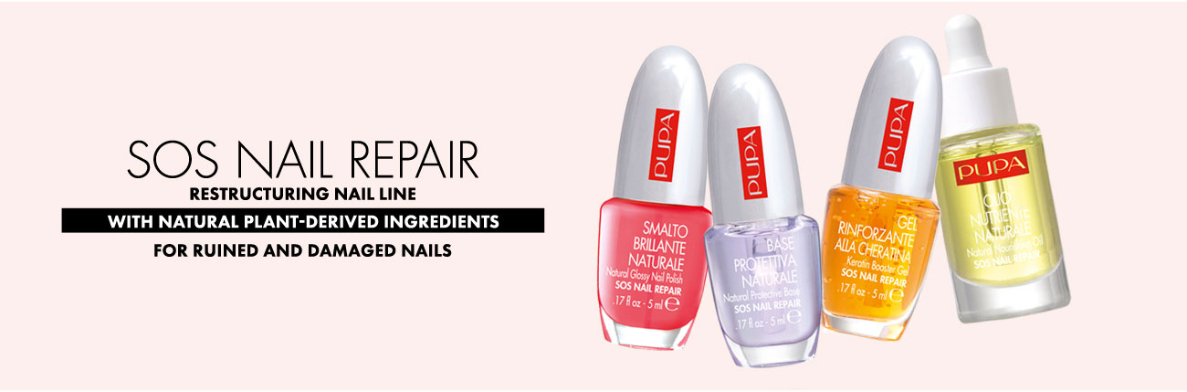 Nail make-up: SOS Nail Repair treatments - Pupa Milano