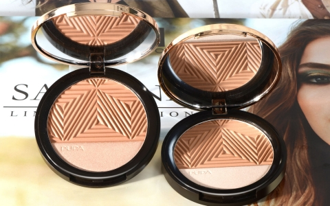 Savanna Bronze & Highlighter Bronzer and Highlighter - Tanning and Light Reflecting
