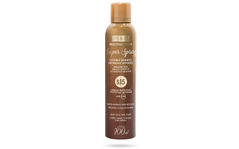 Super Spray Invisible Tanning SPF 15